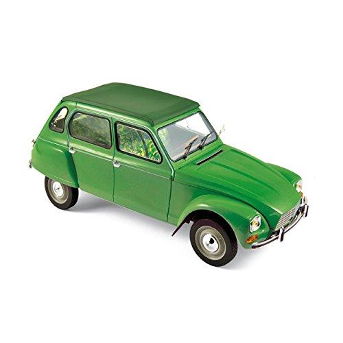 Norev nv181621 1: 45,7 cm 1975 Citroen Dyane 6 Tuileries grün Sterben Cast Auto
