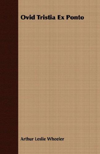 Download Ovid Tristia Ex Ponto pdf epub