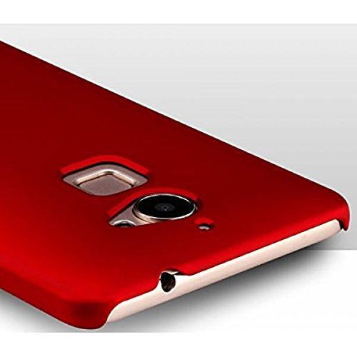 low priced 797e0 19e55 Shop Buzz Rubberised Matte Hard Case Back Cover for Coolpad Note 5 (Wine  Red Colour)
