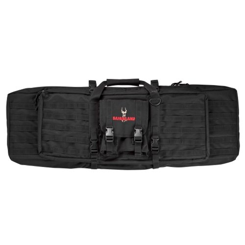 Safariland model 4552-36-4 Dual Rifle Case, Nylon, Black, M4 (Nylon Hard Gun Case)
