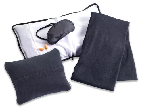 lewis-n-clark-travel-comfort-set-black-one-size