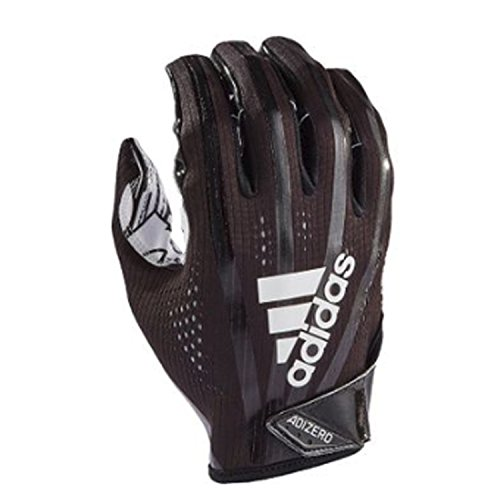 Gloves Adidas Athletic (adidas AF1000 Adizero 7.0 Receiver's Gloves, Black, Medium)