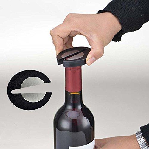 Easy Red Wine Champagne Bottle Foil Cutter Opener Wine Tool (Champagne Bottle Knife)