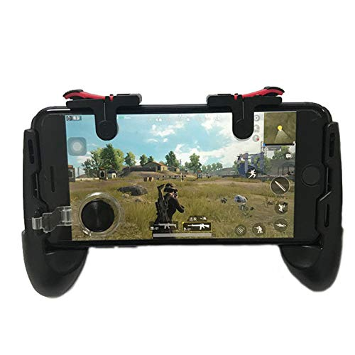 PinShang Universal Game Controller Mobile Joystick Gamepad Phone Grip with Joystick/Fire Buttons for 5.0~6.0 Inch Mobile Phone Android iOS Gamepad