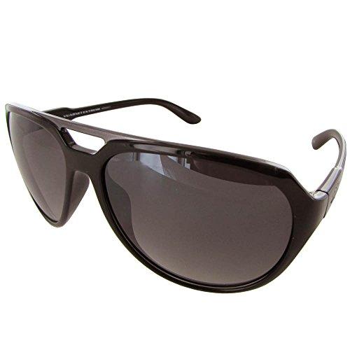 Vuarnet Extreme VE5009 Aviator Sunglasses - Medium Shiny Black/Grey Black (Cheap Sunglassses)