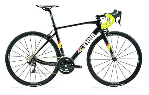 Cinelli Superstar Caliper Road Bicycle Ultegra Black Diamond Large