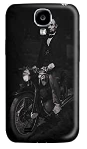 Biker Lincoln Custom Samsung Galaxy I9500/Samsung Galaxy S4 Case Cover Polycarbonate 3D