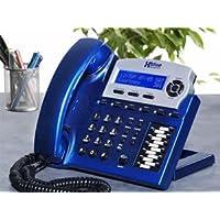 New XBlue Networks XBlue Speakerphone Vivid Blue Auto attendant Voicemail Live call recording