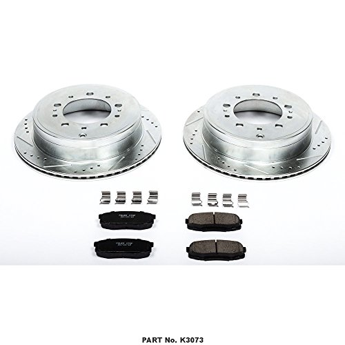 8X Brake Ceramic Pads For 2005-2007 Ford F250 Super Duty Front and Rear Low Dust