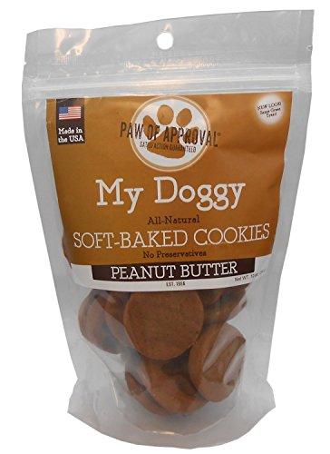 My Doggy Soft-Baked Cookies Dog Treats - 10 Ounces (Peanut Butter)
