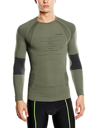 X-Bionic Functional Clothing Combat Adult Man Shirt Lg UW's Multi-Coloured Sage Green/Anthracite Size:L/XL by X-Bionic
