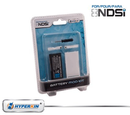 Dsi Battery (Nintendo DSi 5-in-1 Rechargeable Battery Kit (White))