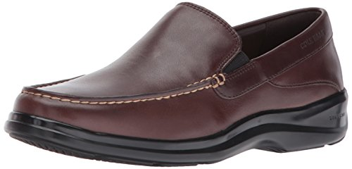 Cole Haan Men's Santa Barbara Twin Gore II Loafer, Dark Roast, 7.5 Medium US]()
