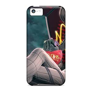 High-quality Durability Cases For Iphone 5c(neon Genesis Evangelion Anime Girl)