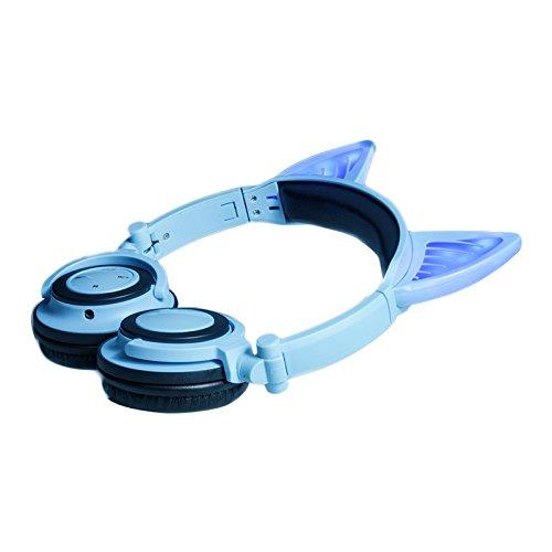 Cat Ear Headphones, DICEKOO Wireless Bluetooth Headset