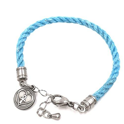 - Planet Love Life Blue Dolphin - Ocean Plastic Bracelet - Waterproof Stainless Steel Hardware