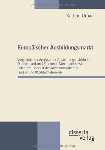 Europaischer Ausbildungsmarkt  [Urban, Kathrin] (Tapa Blanda)