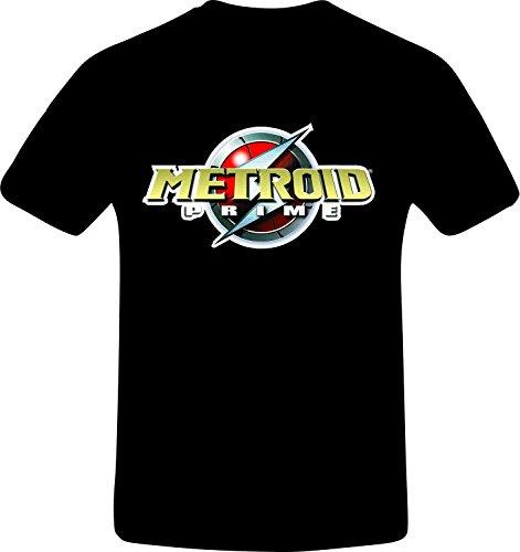 Metroid, Prime - Best Quality Costum Tshirt (XL, BLACK) -