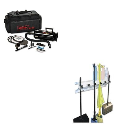 KITEXC3336WHT2MEVDV3ESD1 - Value Kit - Datavac ESD-Safe Pro 3 Professional Cleaning System (MEVDV3ESD1) and Ex-cell The Clincher Mop amp;amp; Broom Holder (EXC3336WHT2) - Data Vac Pro Cleaning Kit