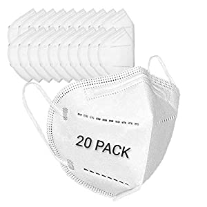 Best Epic Trends 41erMbCX-xL._SS300_ Disposable Earloop Face Mask, Dimensional protection PM2.5, Size: Medium, Suitable for daily protection. (20 PACK)