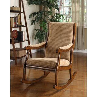 Exceptionnel Add Leisurely Comfort To Your Living Room Or Den With This Comfy Antique  Oak Rocking Chair