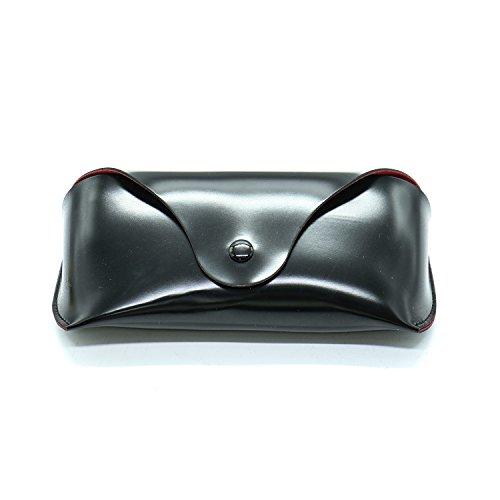 HUELE Portable PU Leather Eyeglasses Case Sunglass Box Case - Sun Glass Hu
