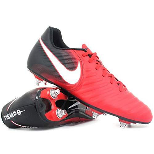 Tiempo Rio IV (SG) Football Boots - University Red