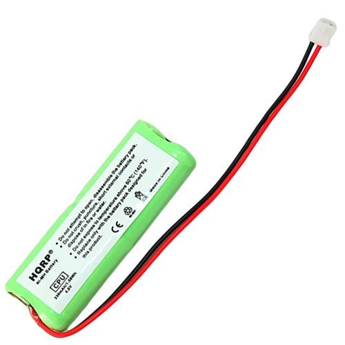 HQRP Battery for Dt-Systems SPT Series SPT-2420, SPT-2422, SPT-2430, SPT-2432, SPT-7300, SPT-7302, SPT-7800, SPT-7802 Remote Controlled Dog Training Collar Receiver + Coaster