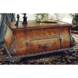 Butler Furniture Heritage Collection (Wood Trunk Table w Ornamental Straps &)