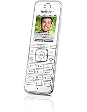 AVM FRITZ!Fon C6 DECT-comforttelefoon (hoogwaardig kleurendisplay, HD-telefonie, internet-/comfortdiensten, besturing FRITZ!Box-functies) wit, Duitstalige versie, Wit