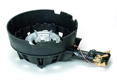 鋳物ハイカロリーコンロ二重種火付浅型上置 TS-208PAU 都市ガス   B00B4QMVWO