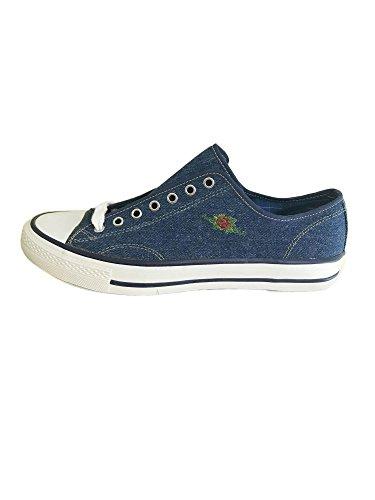 Blue Vintage Charro Sneakers 43 Denim El SA7IwxT6qx