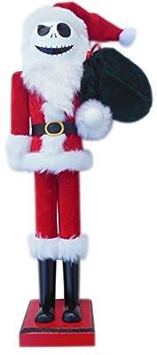 Jack Skellington in Santa Suit Nutcracker - The Nightmare Before Christmas Nutcracker