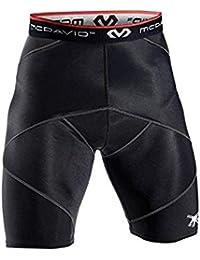 Cross Compression Shorts, Men's Boxer Brief, Medium Black