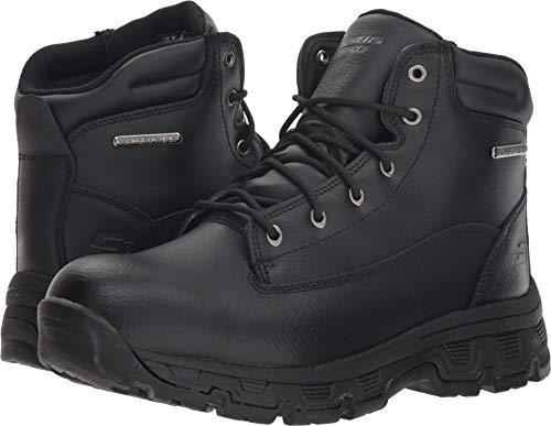 Skechers Men's Morson-SINATRO Hiking Boot, Black, 10 Medium US