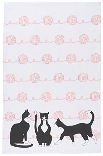 Now Designs Tea Towel, The Great Catsby Print by Now Designs