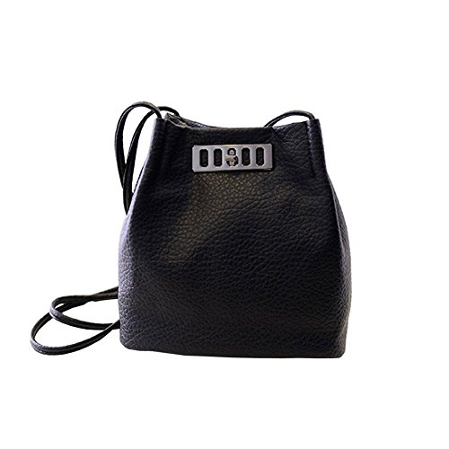 Black Women Lady Handbag Shoulder Bag Tote Purse Messenger Hobo Satchel Bag Cross Body Sincere-handbag0032