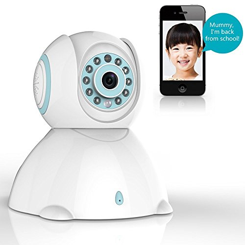 Wireless Camera, Wireless Home Security Camera, Home Security System with Night Vision, Motion Detection Indoor Camera, Baby/Elder/Pet/Nanny Monitor