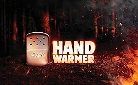 Zippo Reutilizable Calentador Mano