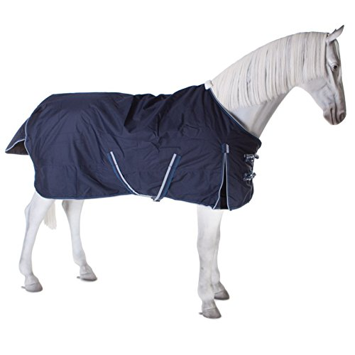 PFIFF 101899 Willow – Manta de Invierno para Caballos, 155 cm, Color Azul