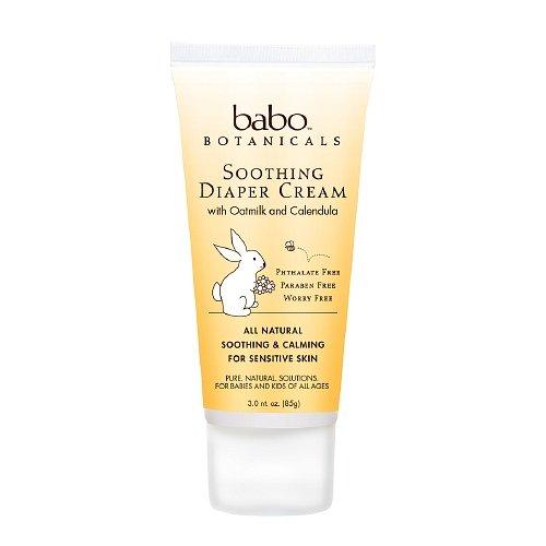 Babo Botanicals Diaper Cream, Soothing, 3 Oz ( Multi-Pack) by Babo Botanicals