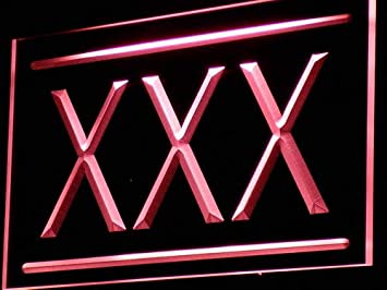 Amazon.com: XXX Adult Rated Movie DVD Film LED Sign Neon ...