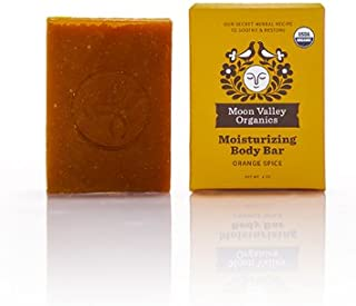 product image for Moon Valley Organics, Soap Bar Orange Spice Organic, 4 Ounce