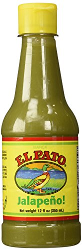 Medium Jalapeno - El Pato Green Jalapeno Hot Sauce Medium