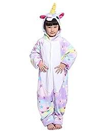 SONGSONGBEAR Halloween Cosplay Costume Unicorn Onesie Pajamas Animal Onepiece