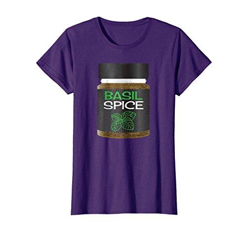 Womens Basil Spice Rack Girls Matching Halloween Costume Shirt XL (90s Costumes For Groups)
