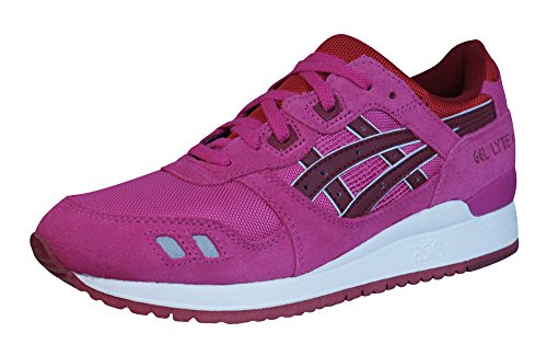 Asics Gel Lyte 111 pour femme Rose Magenta Running Chaussures de sports Baskets Taille 3–6.5