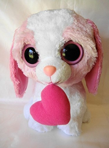 b43dc435276 Amazon.com  Ty Beanie Boos Pink Cookie Dog with Heart 12