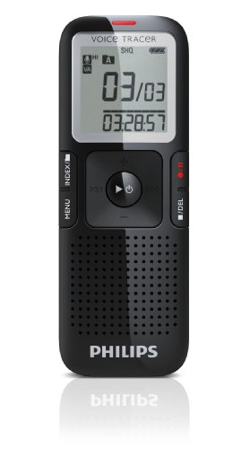 Philips LFH0632/27 Digital Voice Tracer Recorder 632 (Black) by Philips