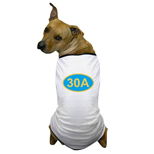 CafePress - 30A Florida Emerald Coast - Dog T-Shirt, Pet Clothing, Funny Dog Costume